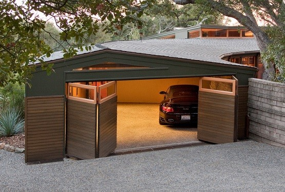 Bi Fold Garage Doors Designs For Your House Home Interiors