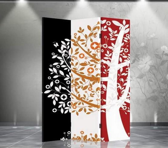 Creative tree theme room dividers