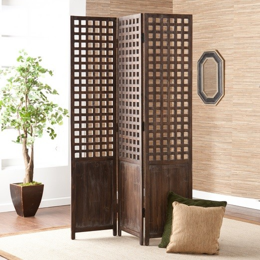Unique non permanent decorative room dividers