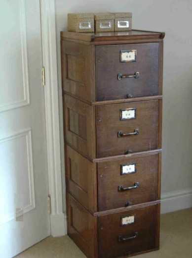 Beau Wooden Filing Cabinet To Fill The Empty Space In Our New House » 4 Drawer  Wooden Filing Cabinet Vintage