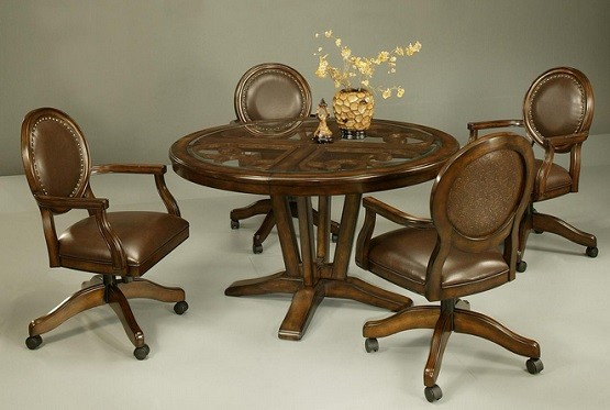 Wicker Dining Room Chairs With Casters