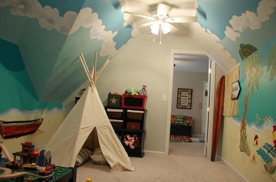 3 Cool Theme Boys Room Paint Ideas Home Interiors