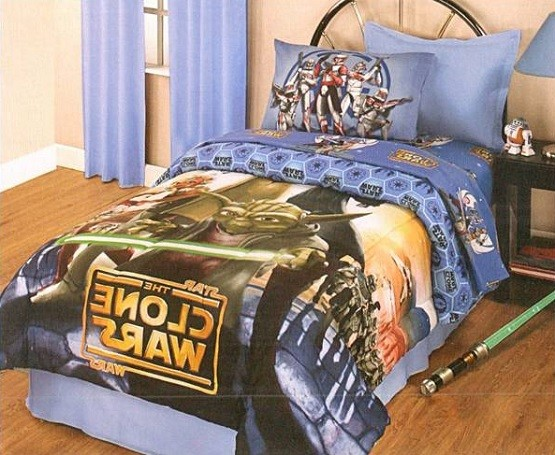 star wars bedding set for room decoration