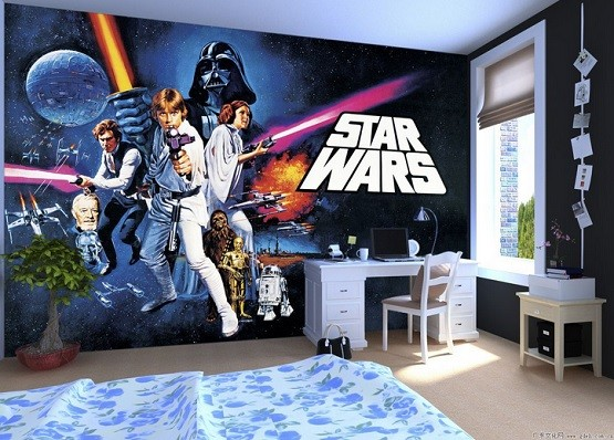 Star Wars Room Decor, Curious Ways To Make Kid's Bedroom