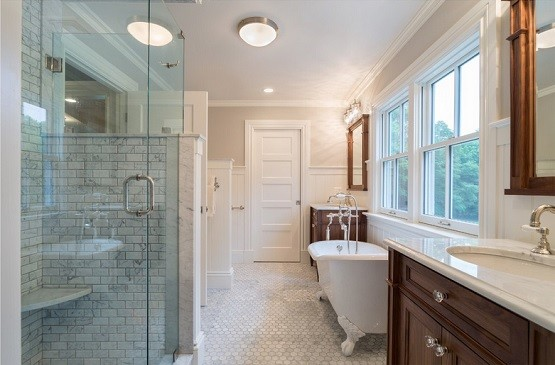 Flush Mount Bathroom Ceiling Light Fixtures