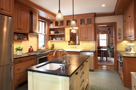 arts and crafts kitchen design ideas kendall stem pendant arts and crafts lighting for kitchen 7467