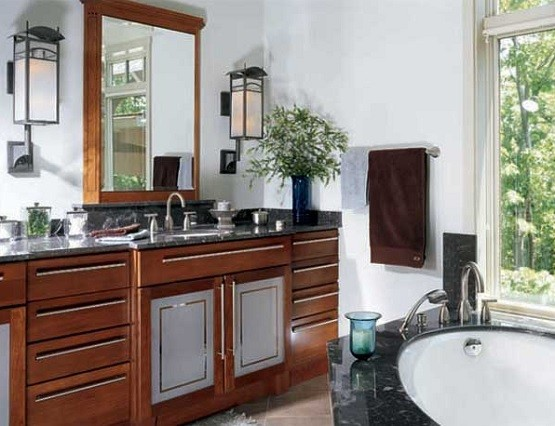Craftsman style bathroom lighting ideas