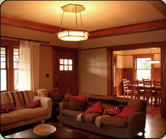 Ordinaire 20 Craftsman Style Lighting Design Inspirations » Craftsman Style Living  Room Lighting Ideas