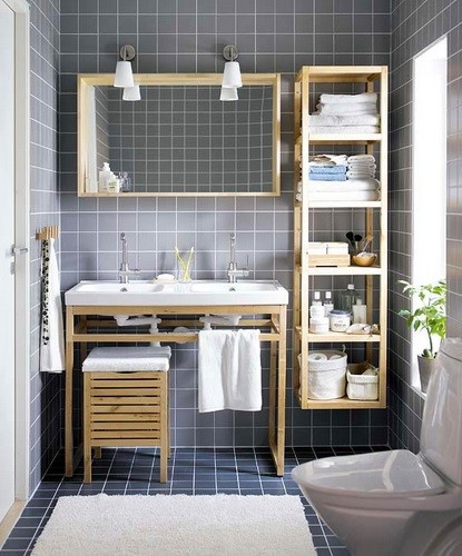 Creative storage ideas for small bathrooms home interiors - Clever storage ideas for small bathrooms ...