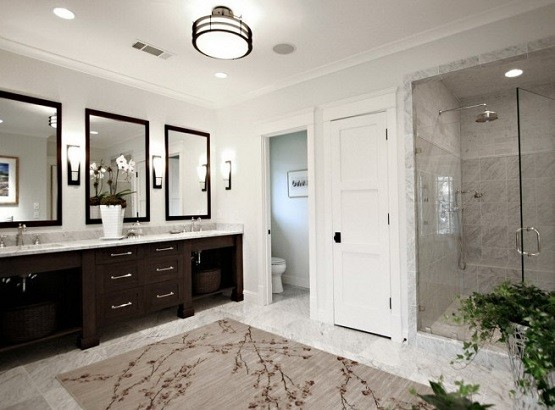 Large Bathroom Rugats Design Home Interiors