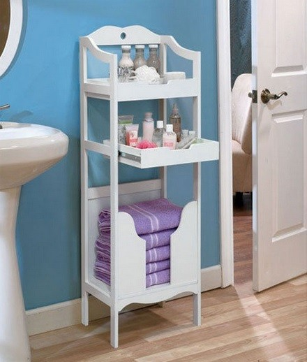 Free Standing Storage Ideas For Small Bathrooms Home