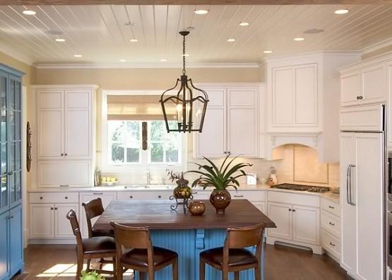 Lantern light fixtures for kitchen