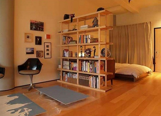 Bookcase Room Dividers Two Functions In One Furniture Open Bookshelf Room Divider In Bedroom