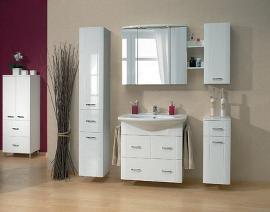 Various Storage Ideas For Small Bathrooms Home Interiors