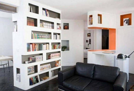 Bookcase Room Dividers Two Functions in one Furniture Home Interiors
