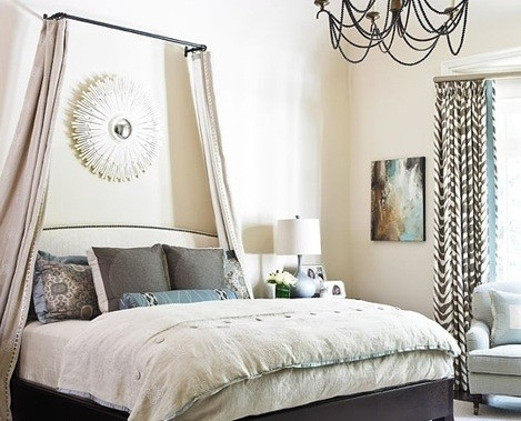 Steps In Making Your Own Canopy Bed Drapes Home Interiors