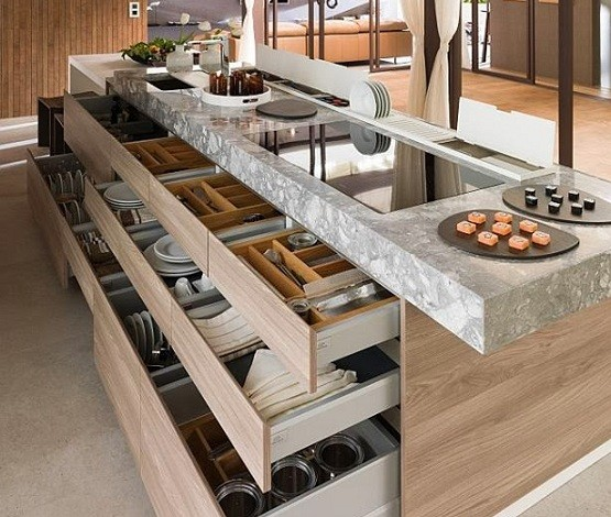 Effective And Functional Contemporary Kitchen Designs
