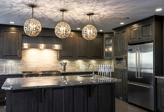 Choosing best light fixtures for kitchen home interiors Kitchen lighting design help