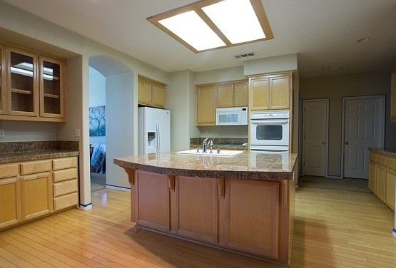 Extra large fluorescent ceiling light fixtures for kitchen