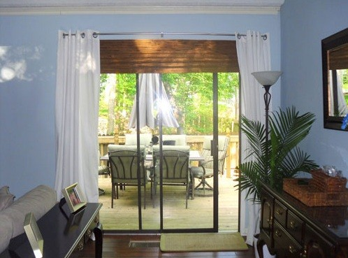 Sliding glass door curtains ideas to decorate your home - Curtains for sliding glass doors in bedroom ...