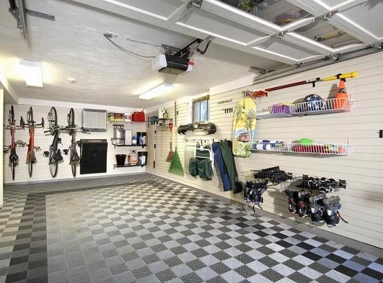 2 LED garage lighting to brighten your garage
