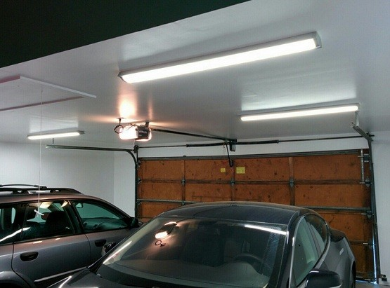 48 In Led Garage Lighting To Brighten Your Garage Home