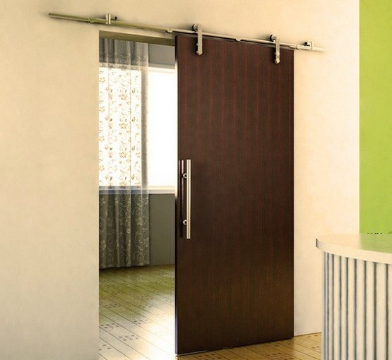 Interior Sliding Barn Doors Bring Classic Elegant Interior To Your House Home Interiors