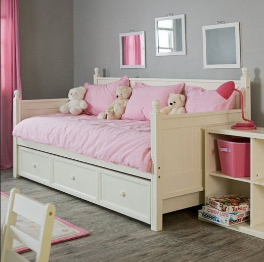 Modern daybeds with storage for children's room