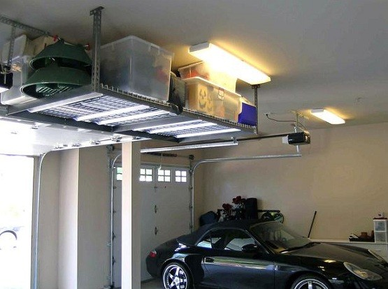 diy prefabricated steel shelves for garage