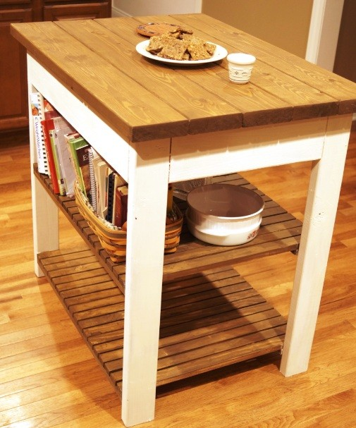 Small kitchen storage ideas for a more efficient space for Small kitchen table with storage