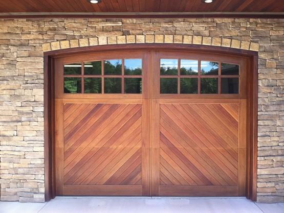 10 ft garage door with carriage double garage door style