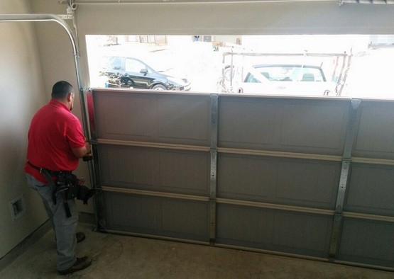 Garage Door Panel Replacement A Quick Step Installation