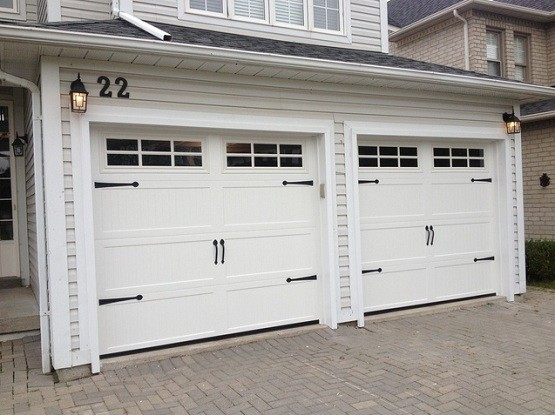 Double garage door size plans for your large garage home Standard double car garage door size