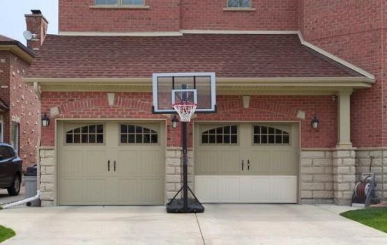 Swing out garage doors fiberglass