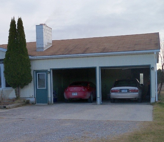 Two car garage door size with suitable size