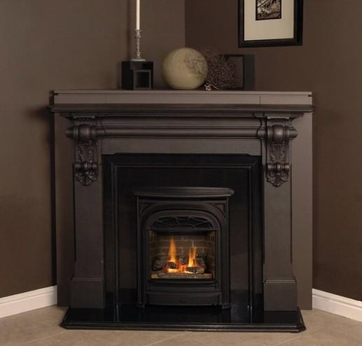 Corner Fireplace Design Ideas With Elegant Mantel Home Interiors