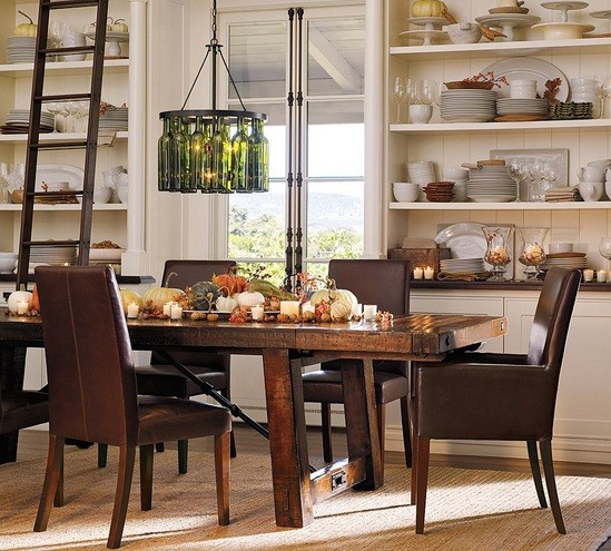Rustic Lighting For Dining Room Decorating Ideas Home Interiors