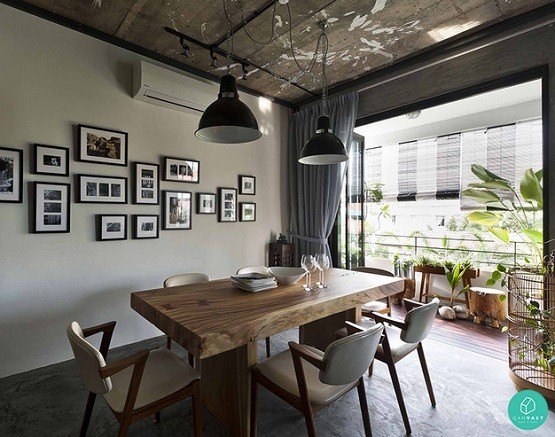 Industrial Dining Room Lighting And Decor Tips Home