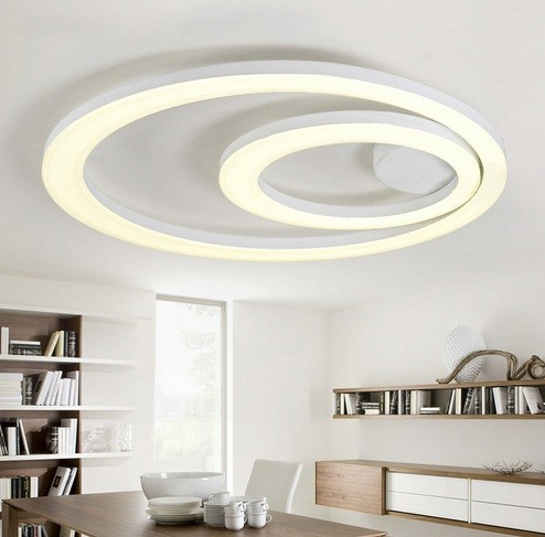 decorating tips led surface mount ceiling lights for dining room