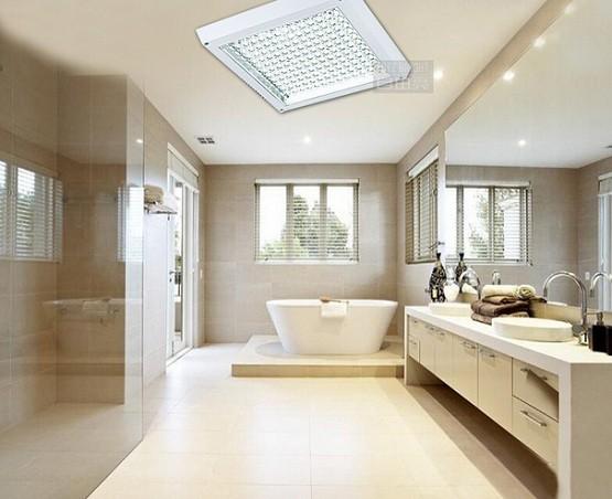 Led surface mount ceiling lights for master bathroom
