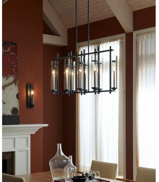 Tips Modern Lantern Chandelier For Dining Room With Ideal Size