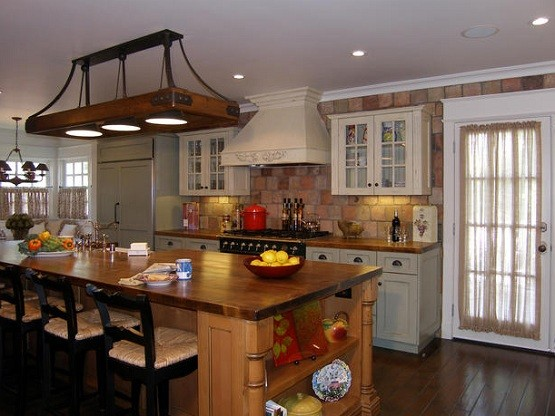 Rustic Wood Light Fixtures For Dining Room