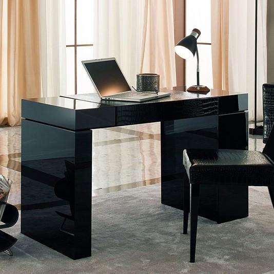 Beautiful minimalist computer desks black