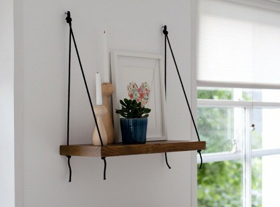 Cool diy brace shelf ideas