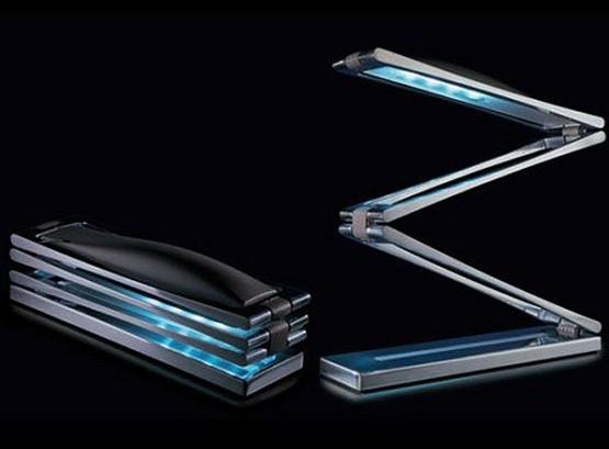 Cool foldable chain desk lamps