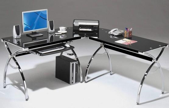 Cool z line belaire l shaped computer desk