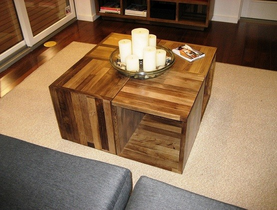Small wooden coffe table dimensions for small living room