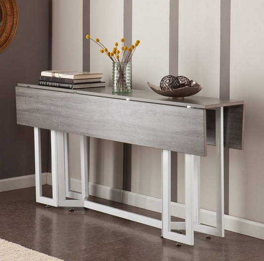 Extendable Console Table For Beautiful Look Home Interiors