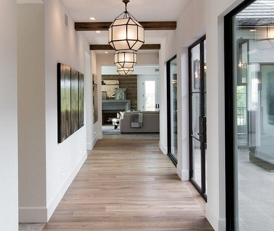 hallway ceiling light to increase the look home interiors. Black Bedroom Furniture Sets. Home Design Ideas
