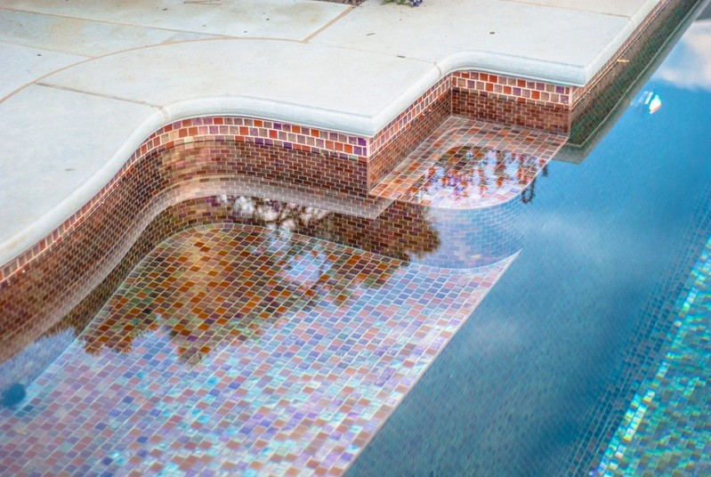 Decorative Pool Tiles Creating A Visual Attraction Home